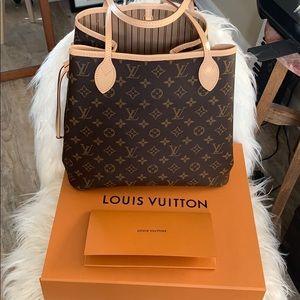 🕊Louis Vuitton Monogram Neverfull tote bag 2019
